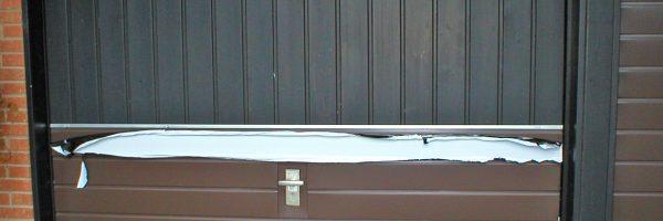 Klempnerarbeiten: Garagenverkleidung
