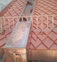 Restaurierung von Bauornamenten / Klempnermanufaktur: Kirche Obere Pfarre Bamberg
