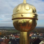 Restaurierung von Bauornamenten / Klempnermanufaktur: Kirche Viereth