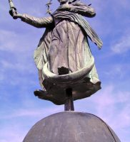 Klempnerarbeiten in der Denkmalpflege: Marienfigur Ebrach
