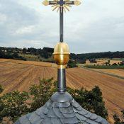Restaurierung von Bauornamenten / Klempnermanufaktur: Kapelle St. Anna Stettfeld