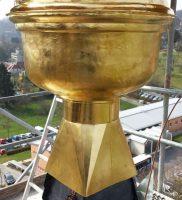Restaurierung von Bauornamenten / Klempnermanufaktur: Kirche St. Getreu